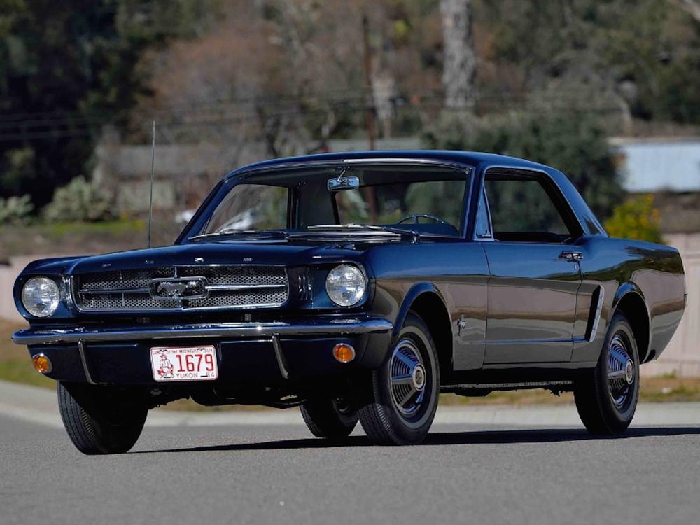 Bild zu Ford Mustang Mecum Auctions