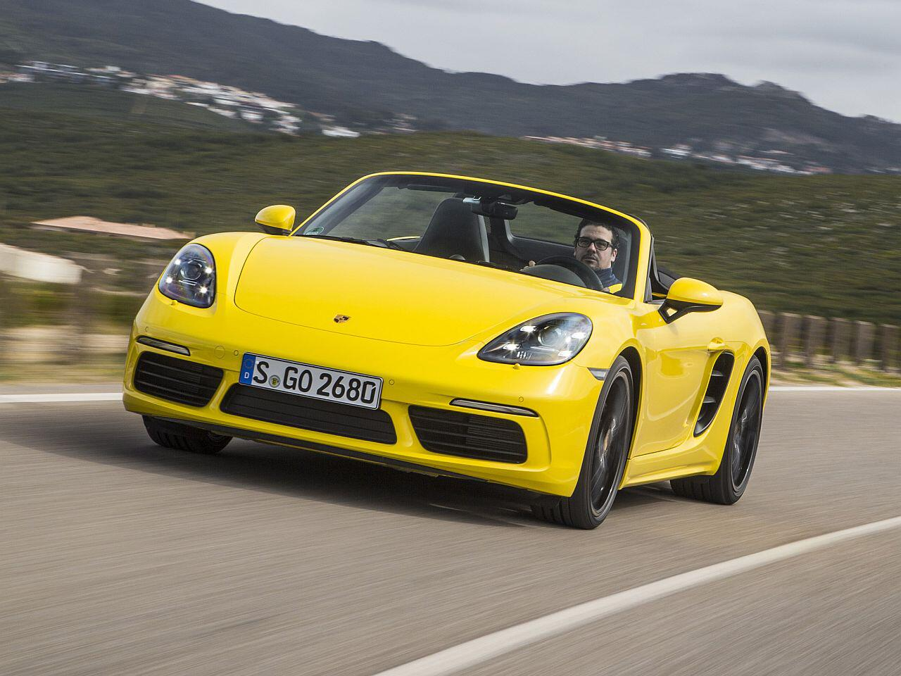 Bild zu Platz 5: Porscher Boxster