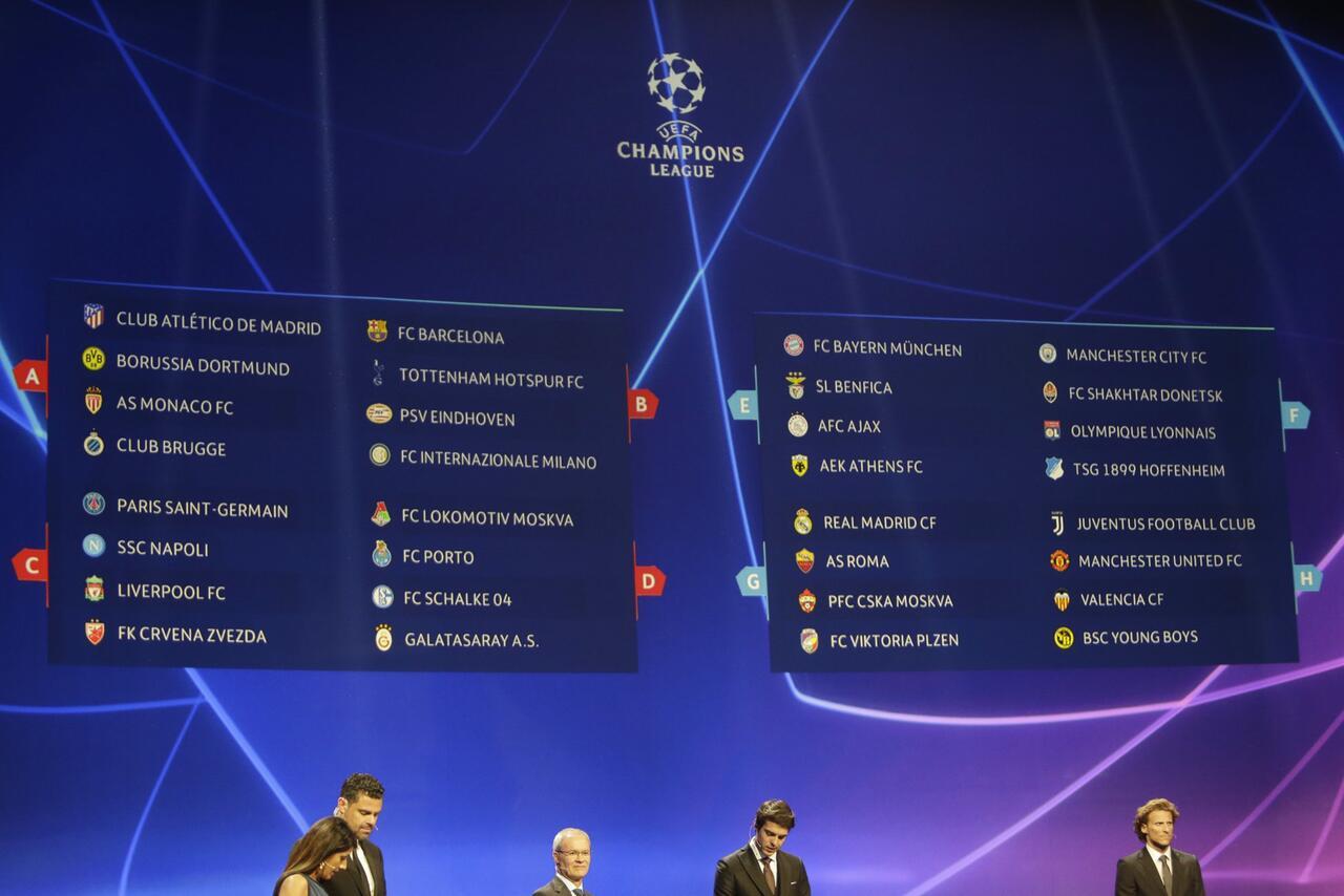 Bild zu UEFA Champions League: Auslosung der Gruppenphase