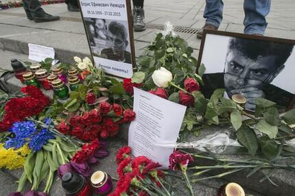 Gedenken in Kiew