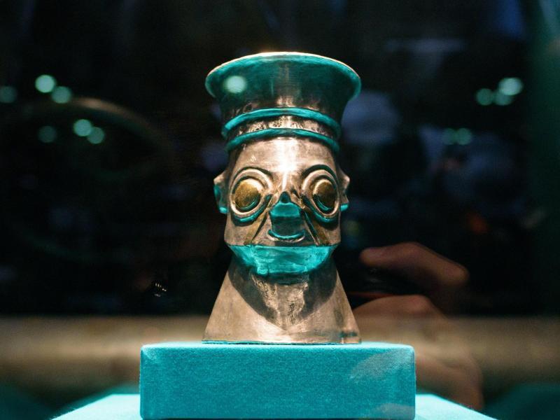 Bild zu Inka-Ausstellung in Völklingen