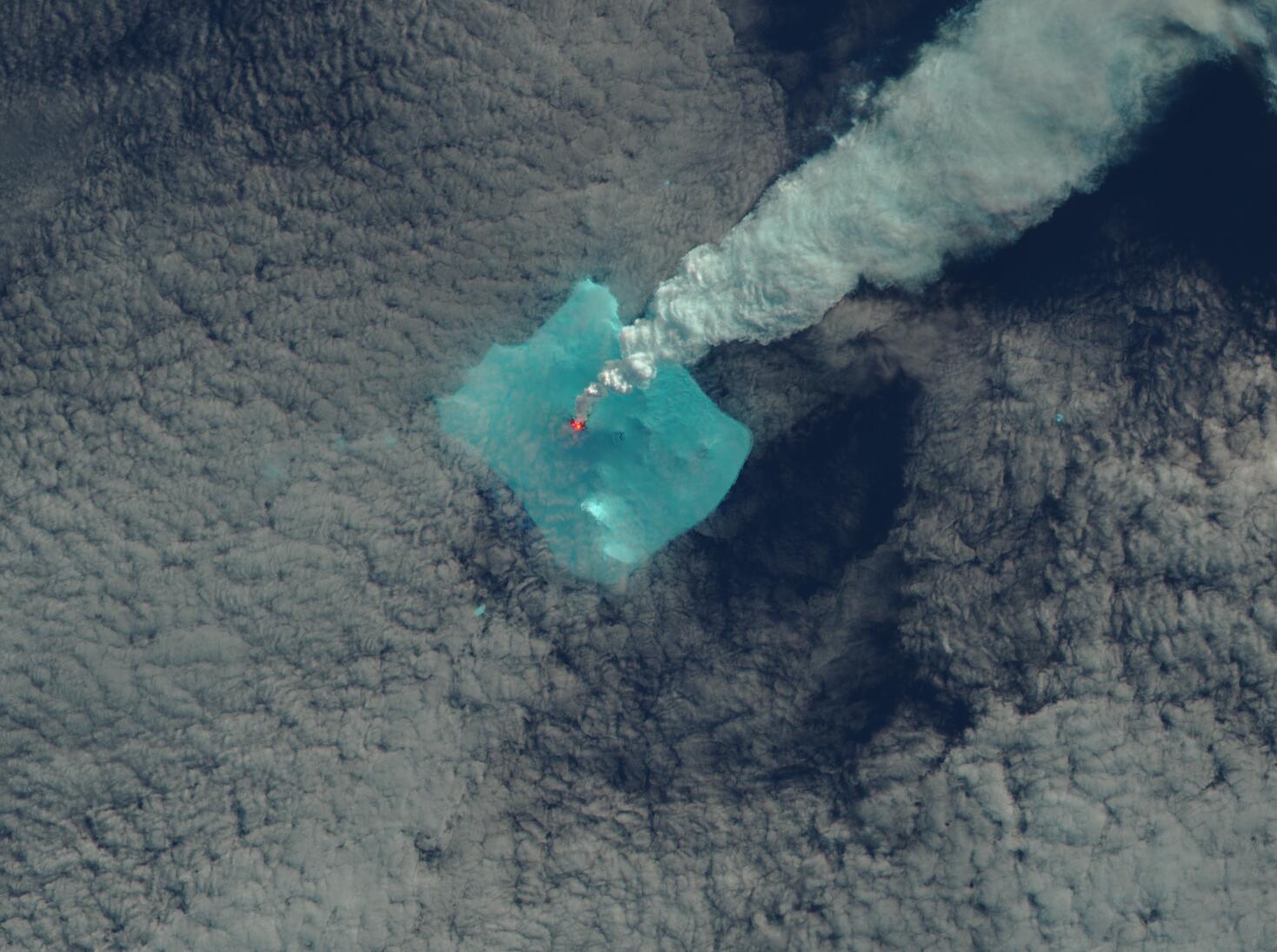 Bild zu Vulkan Sourabaya, Bristol Island