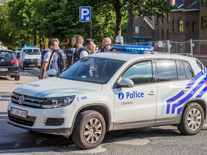 Bild zu Machetenangriff in Belgien