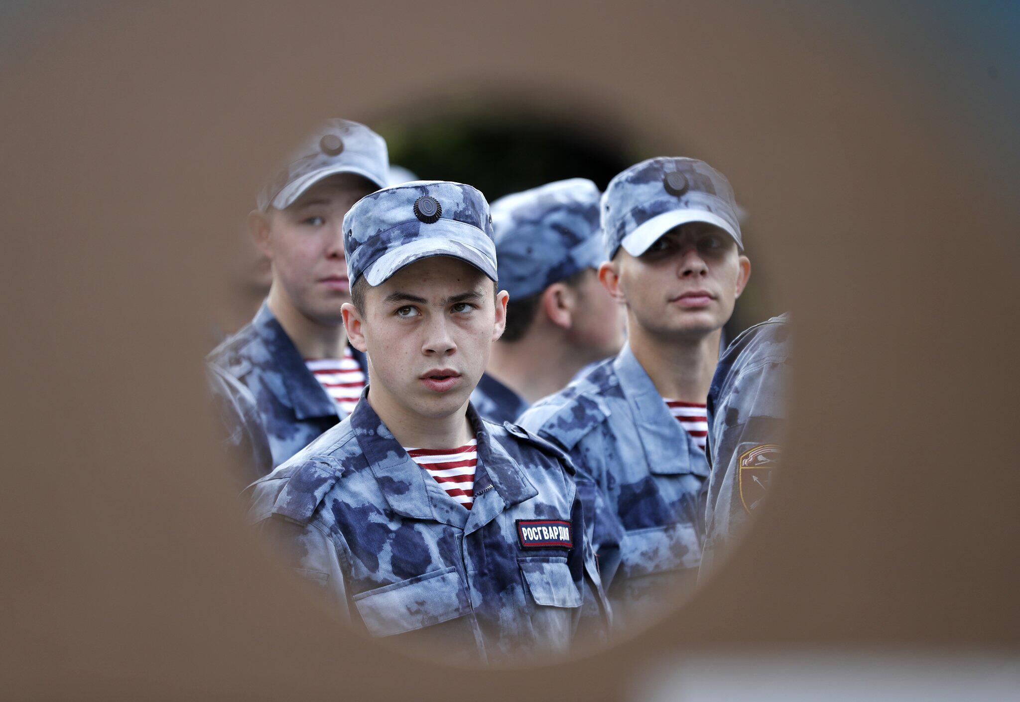 Bild zu Russische Soldaten