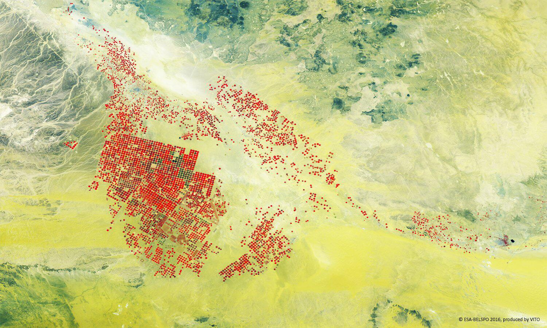 Bild zu Proba-V Satellit der Esa