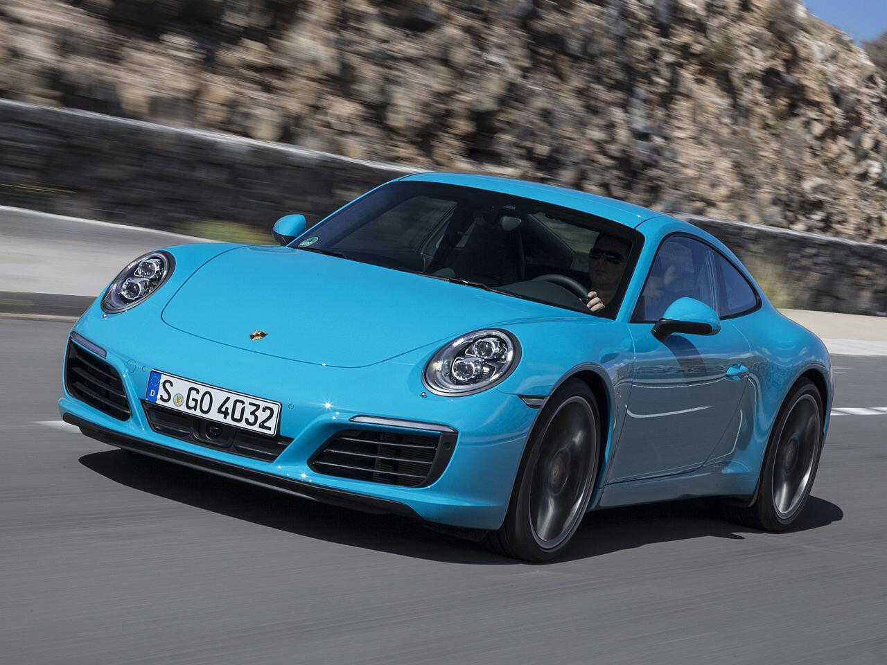 Bild zu Platz 2: Porsche 911