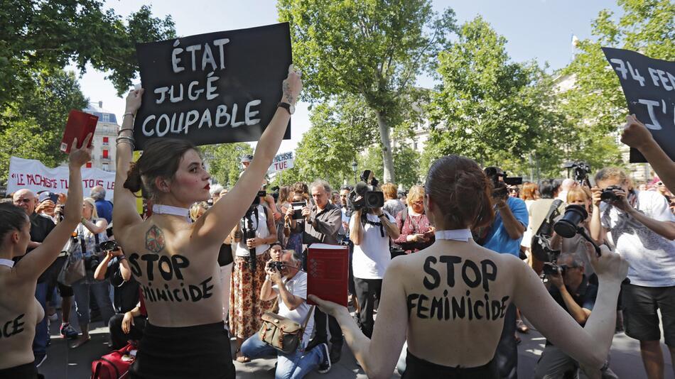 Femen-Protest in Frankreich