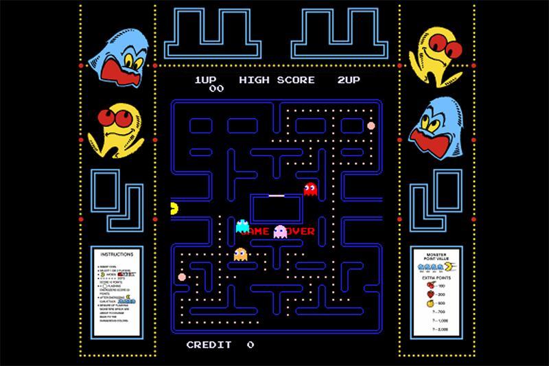 Bild zu Spielszene aus Pac-Man