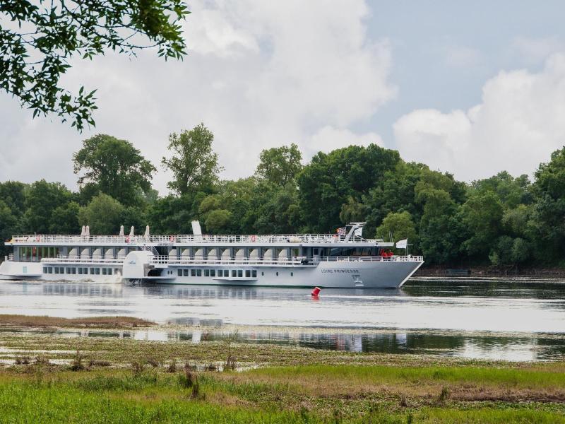 Bild zu Die «MS Loire Princesse» fährt auf der Loire