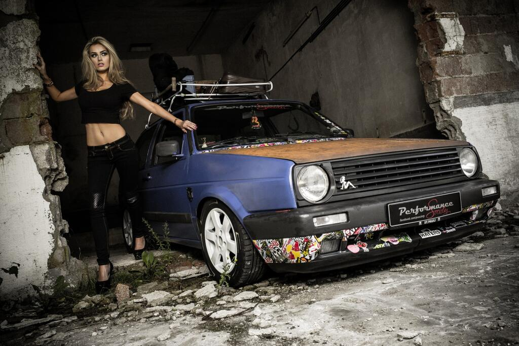 Miss Tuning beim Clubshooting