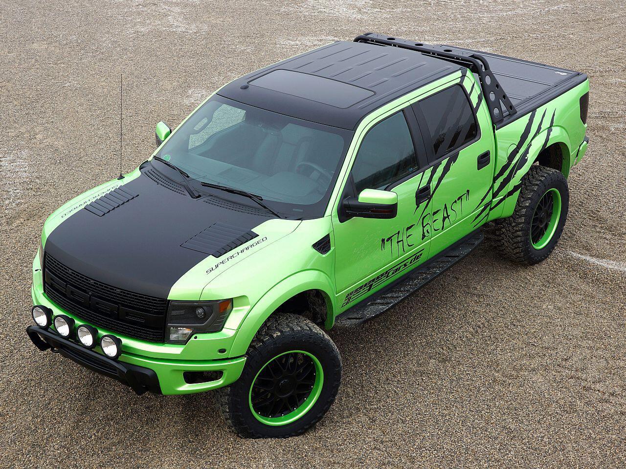 Bild zu Getunter Pickup: Ford F-150 SVT Raptor von Geigercars
