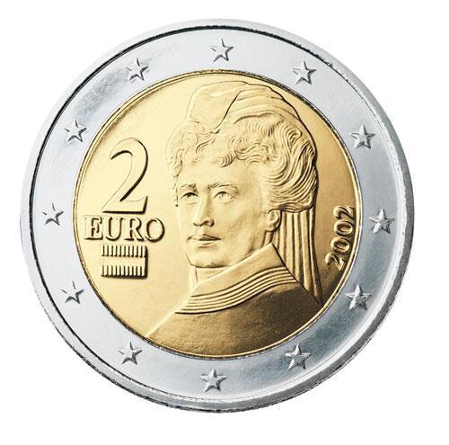Bild zu 2-Euro-Münze aus Österreich