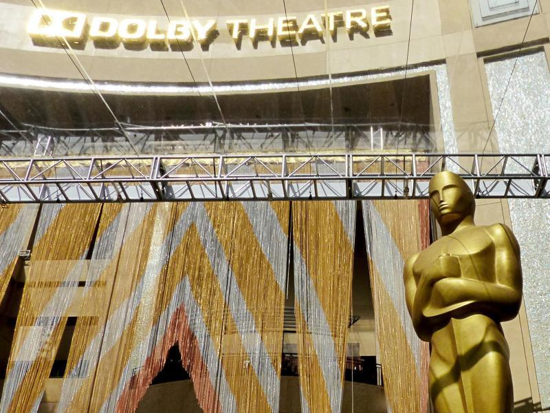Bild zu Vor der Oscar-Verleihung
