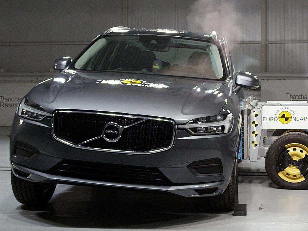Bild zu Volvo XC60 Euro NCAP