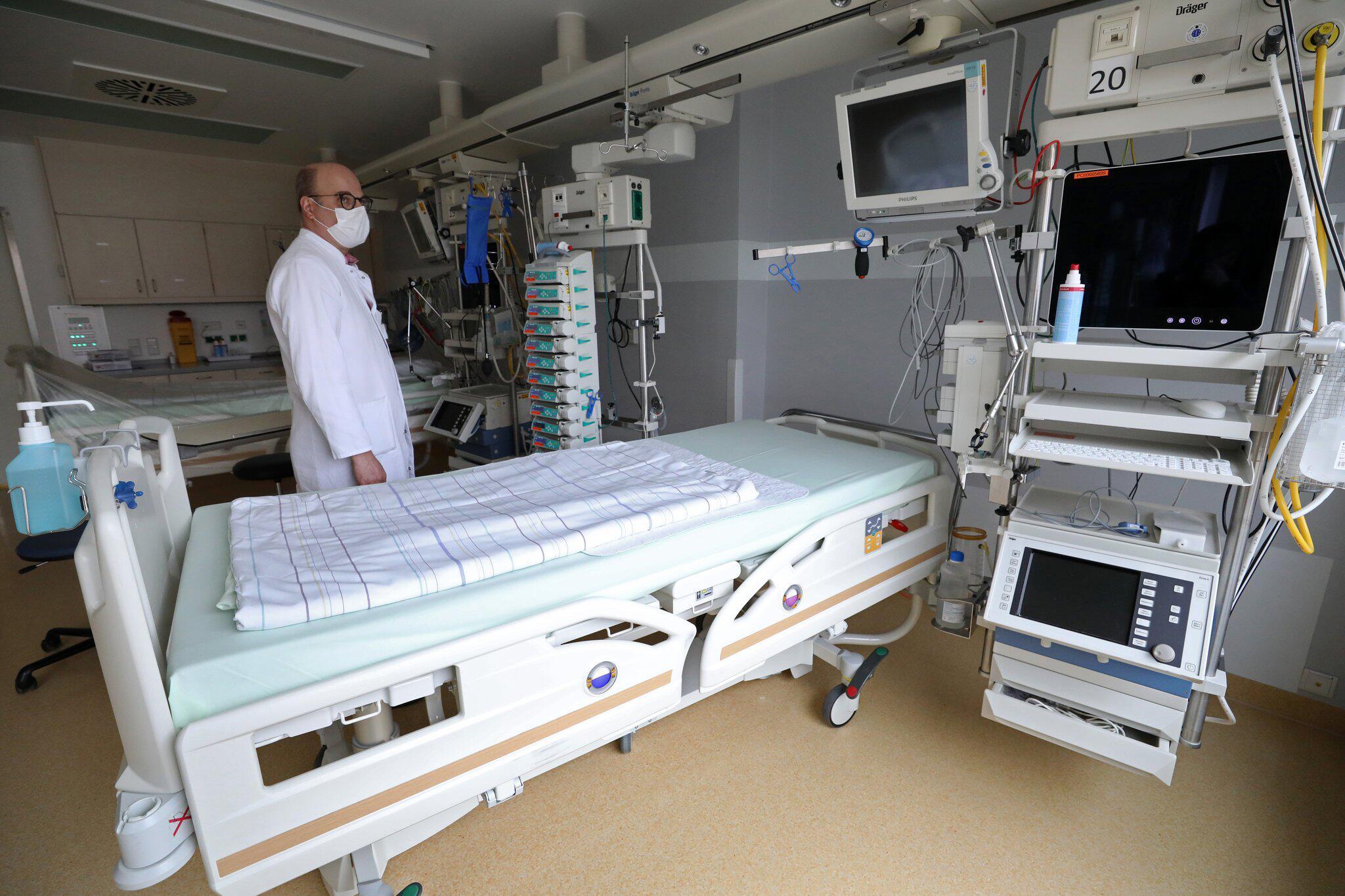 Bild zu Coronavirus - Intensivbett