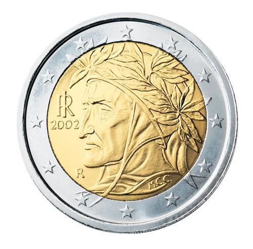 Bild zu 2-Euro-Münze aus Italien