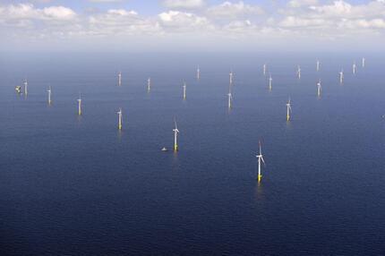 EnBW-Windpark in der Ostsee