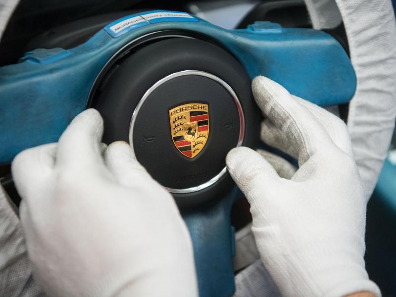 Bild zu Produktion bei Porsche
