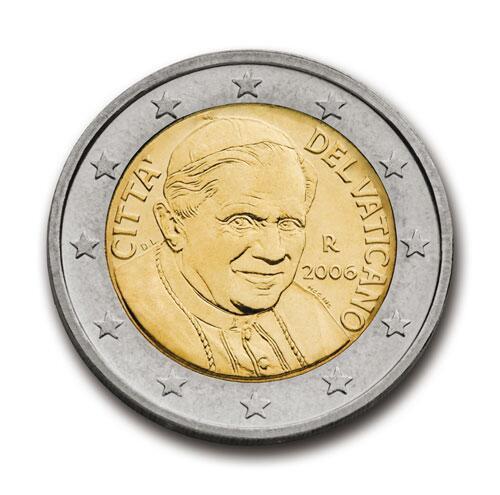 Bild zu 2-Euro-Münze aus dem Vatikan