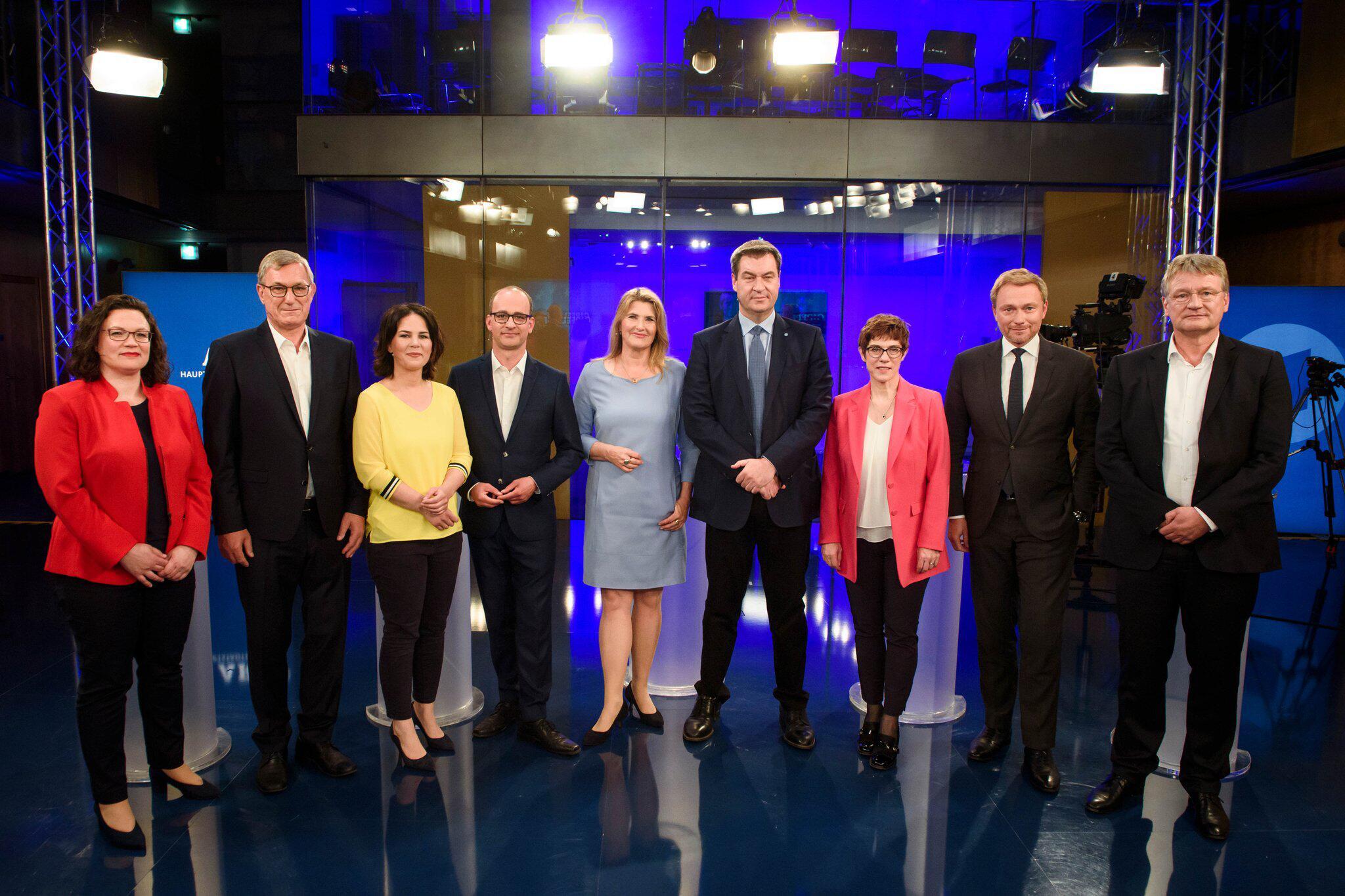 Bild zu ARD-Sendung Gipfeltreffen Europa