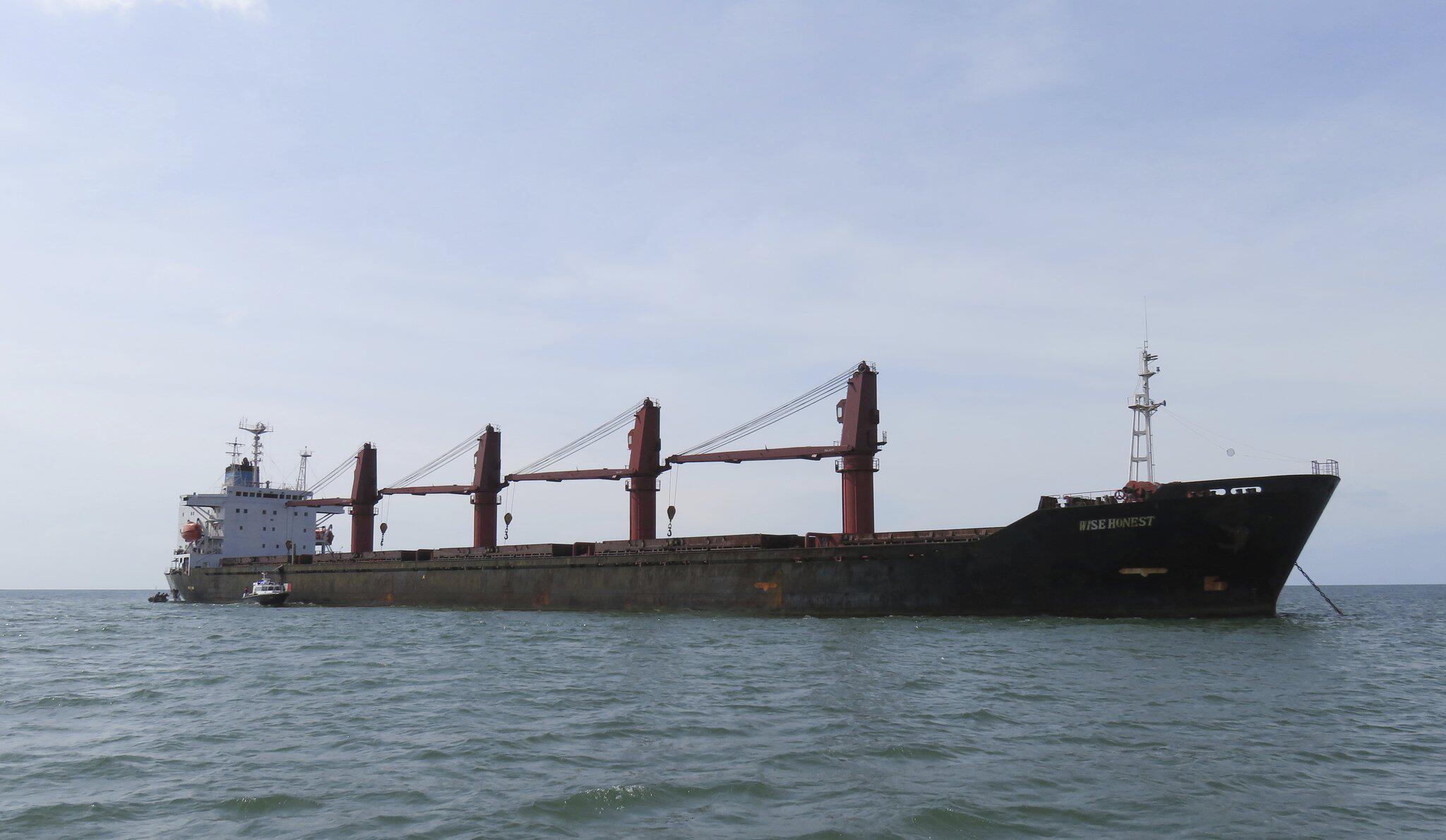 Bild zu USA beschlagnahmen nordkoreanisches Schiff
