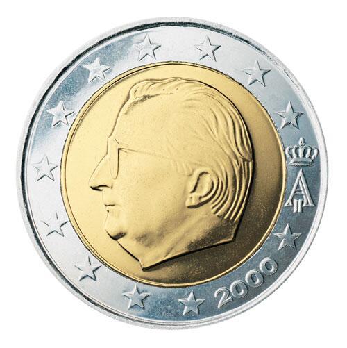 Bild zu 2-Euro-Münze aus Belgien