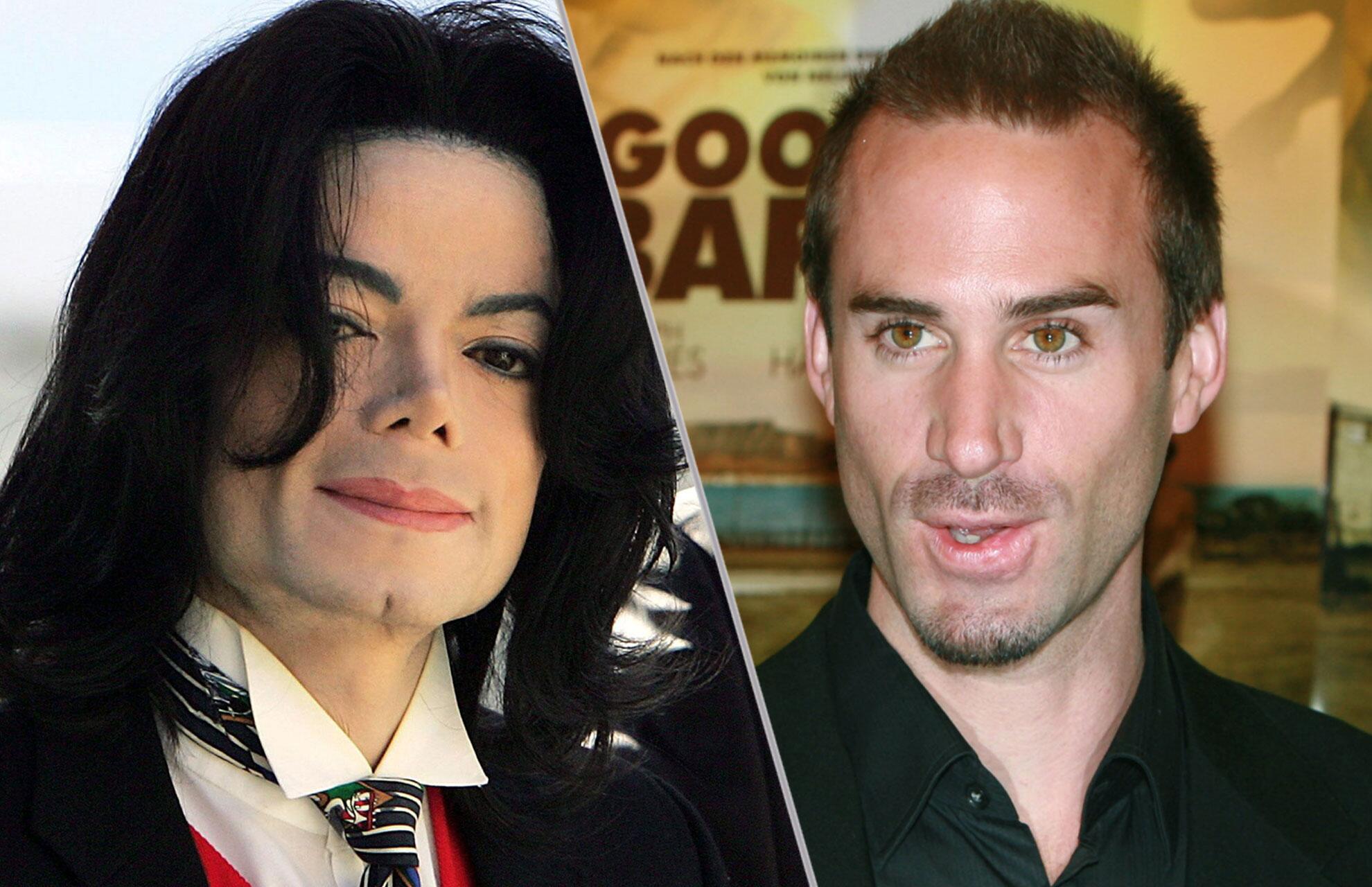 Bild zu Michael Jackson und Joseph Fiennes