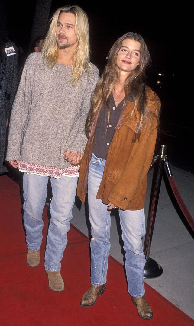Bild zu Brad Pitt, Freundin, Jitka Pohlodek