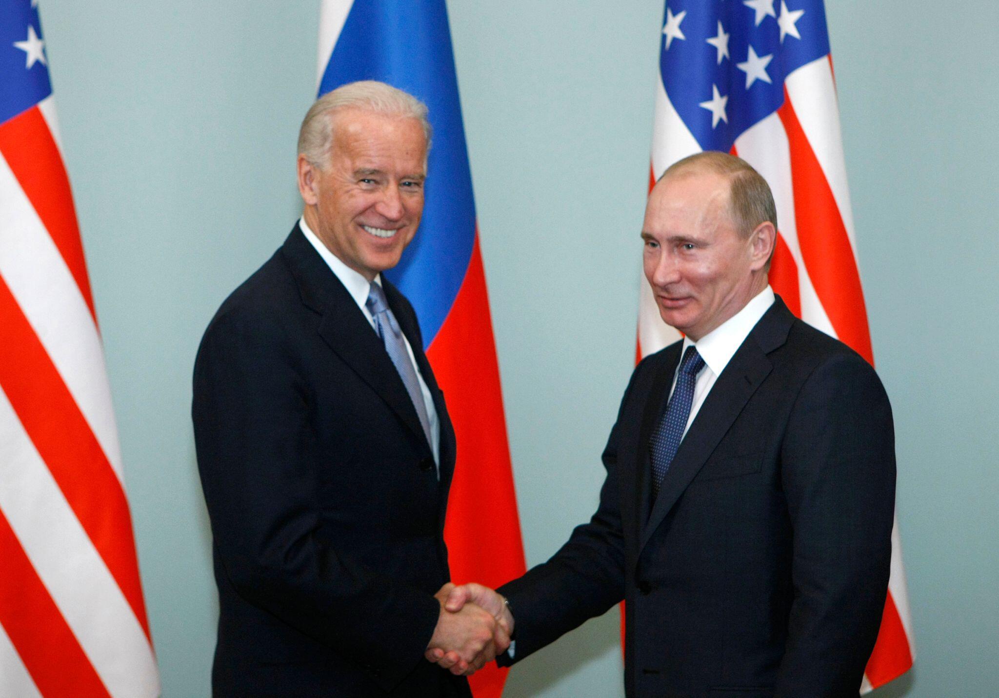 Bild zu Joe Biden und Wladimir Putin