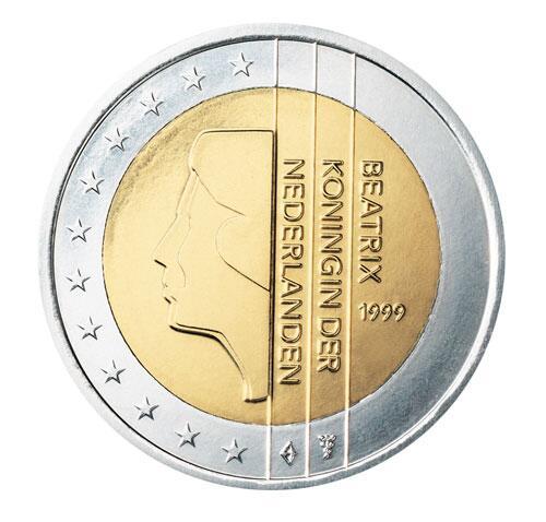 Bild zu 2-Euro-Münze aus den Niederlanden
