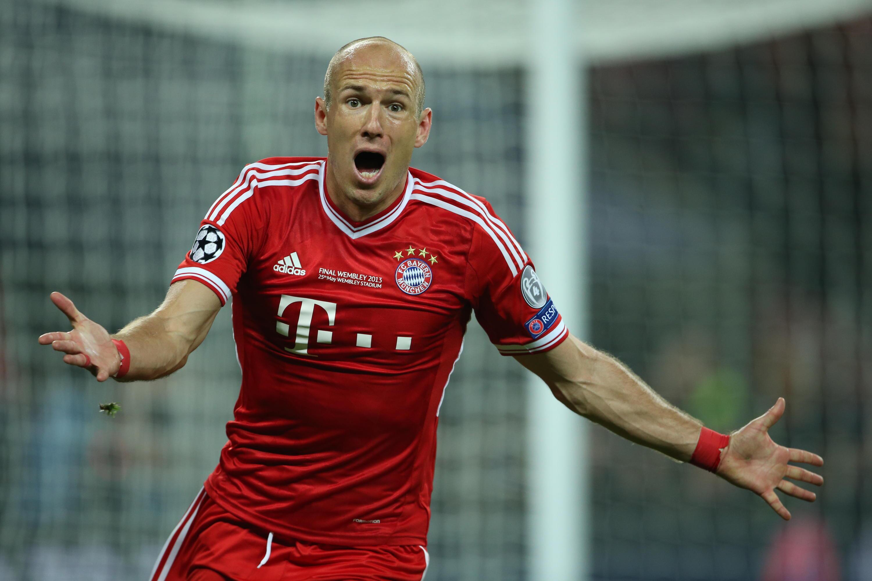 Bild zu Arjen Robben, Champions League Finale, 2013