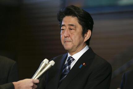 Regierungschef Abe