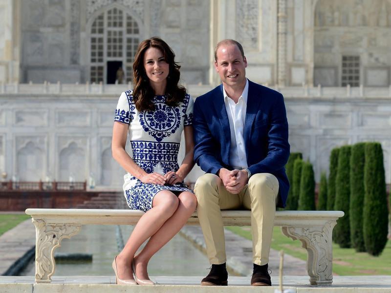 Bild zu William und Kate in Indien