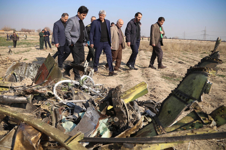 Bild zu Iran, Teheran, Flugzeugabsturz