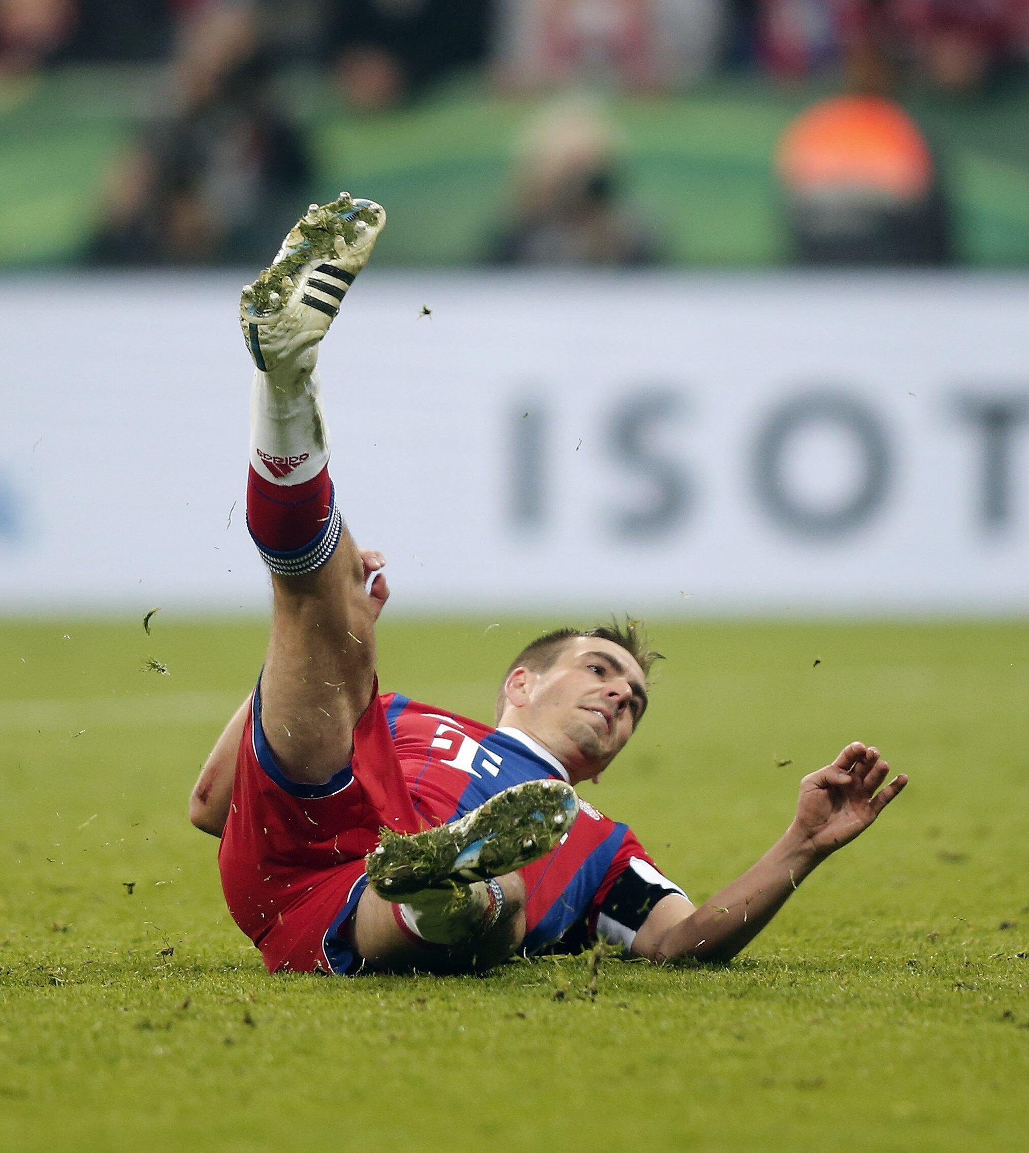 Bild zu Philipp Lahm, FC Bayern, DFB-Pokal,