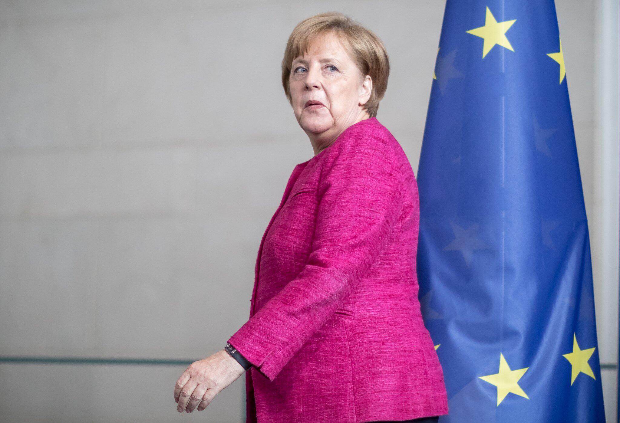 Bild zu Bundeskanzlerin Merkel trifft Stoltenberg