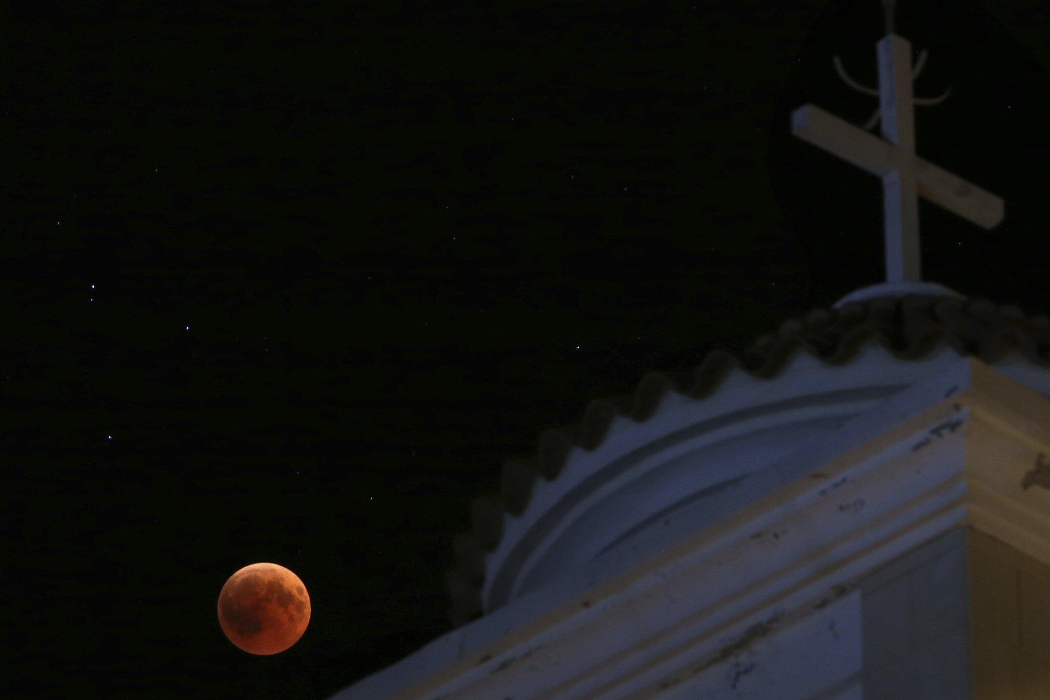 Bild zu Mondfinsternis, Zypern