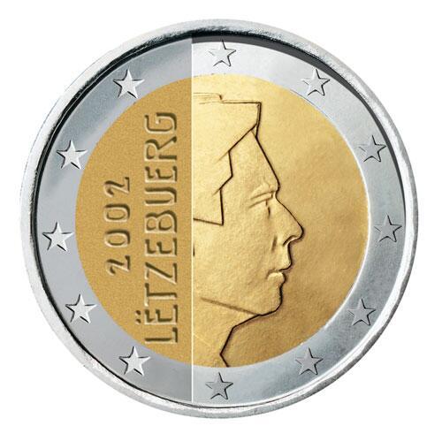 Bild zu 2-Euro-Münze aus Luxemburg