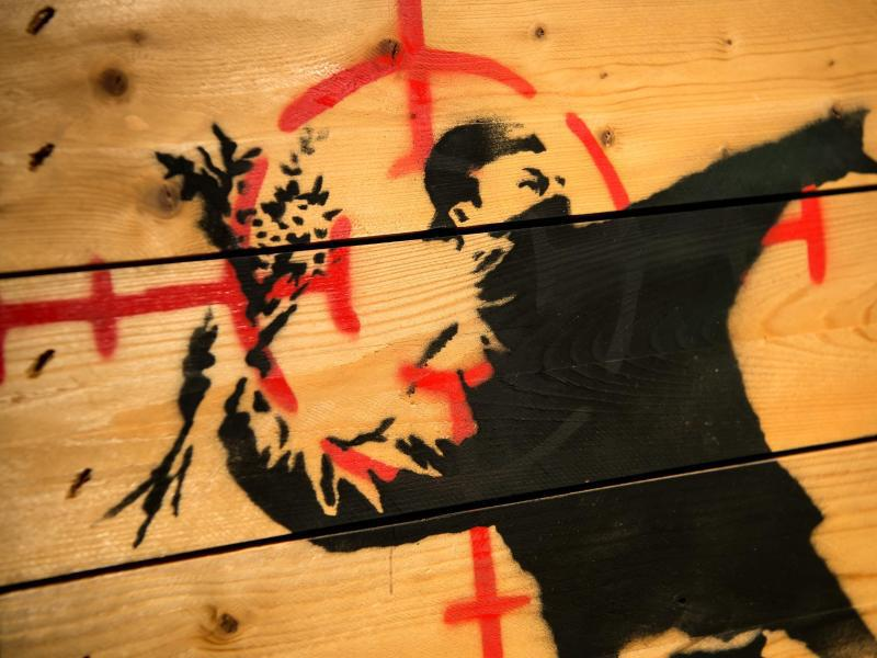 Bild zu Banksy - King of Urban Art @ Munich