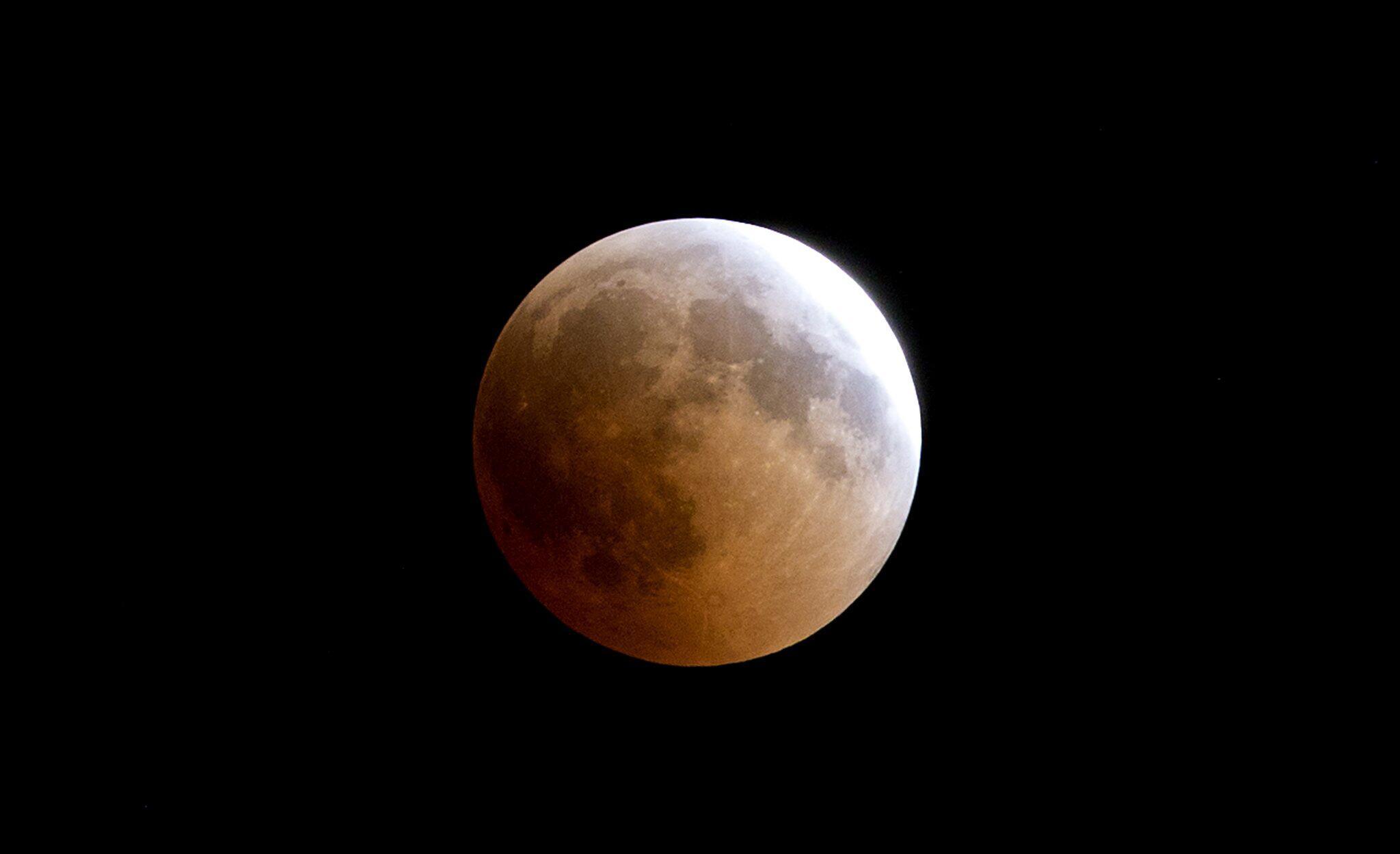 Bild zu Mondfinsternis, Gaza-Stadt