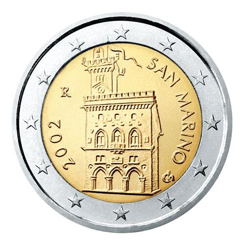 Bild zu 2-Euro-Münze aus San Marino