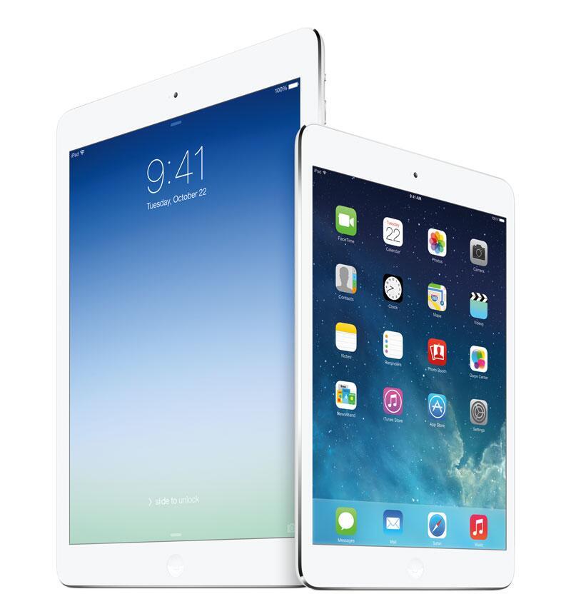 Bild zu iPad Air und iPad Mini