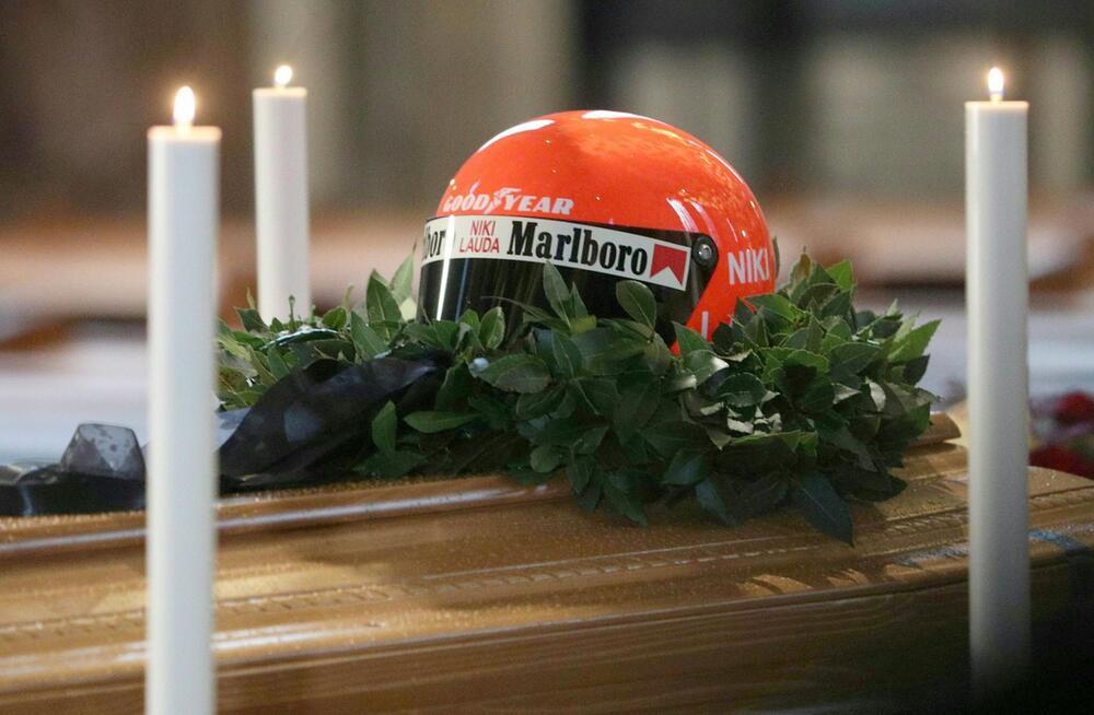 Niki Lauda, Beerdigung, Trauerfeier