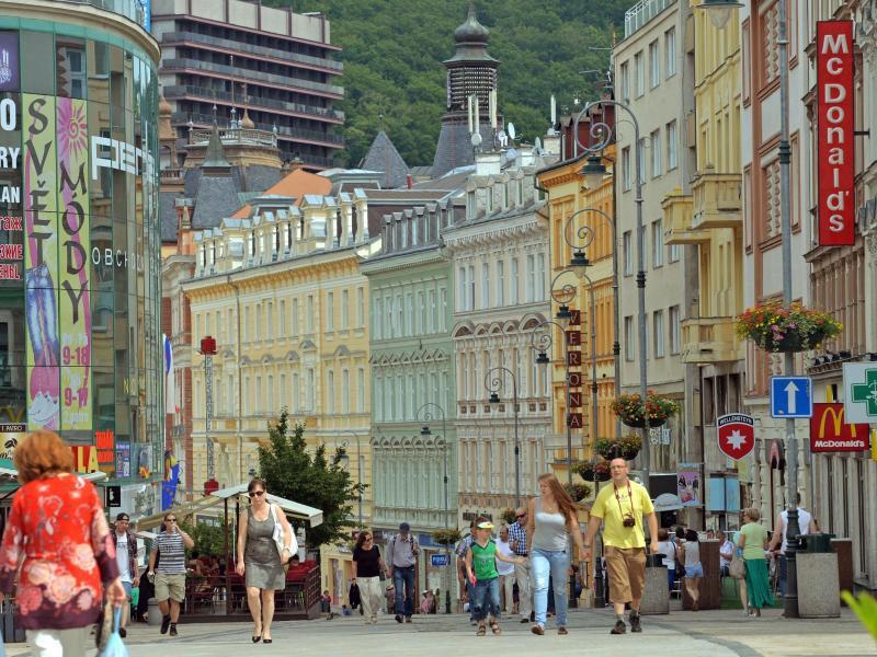 Bild zu Zentrum von Karlsbad