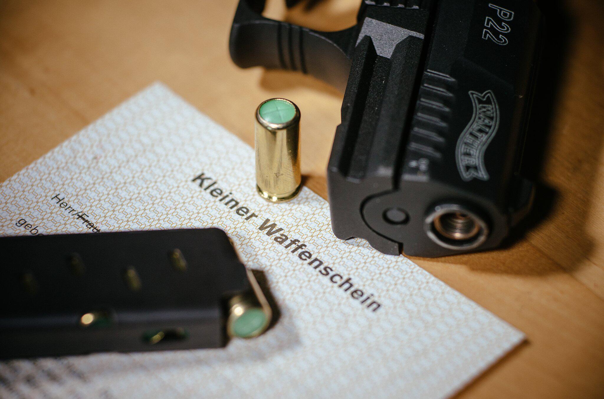 Bild zu Kleiner Waffenschein