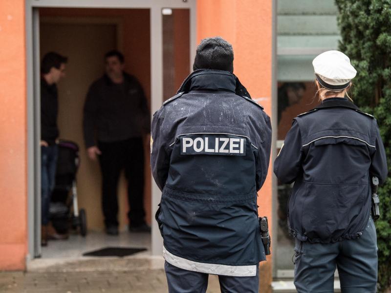 Bild zu Tödliche Polizeischüsse in Darmstadt