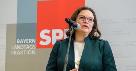 Gemeinsame Sitzung des SPD-Vorstands von Bayern und Bund
