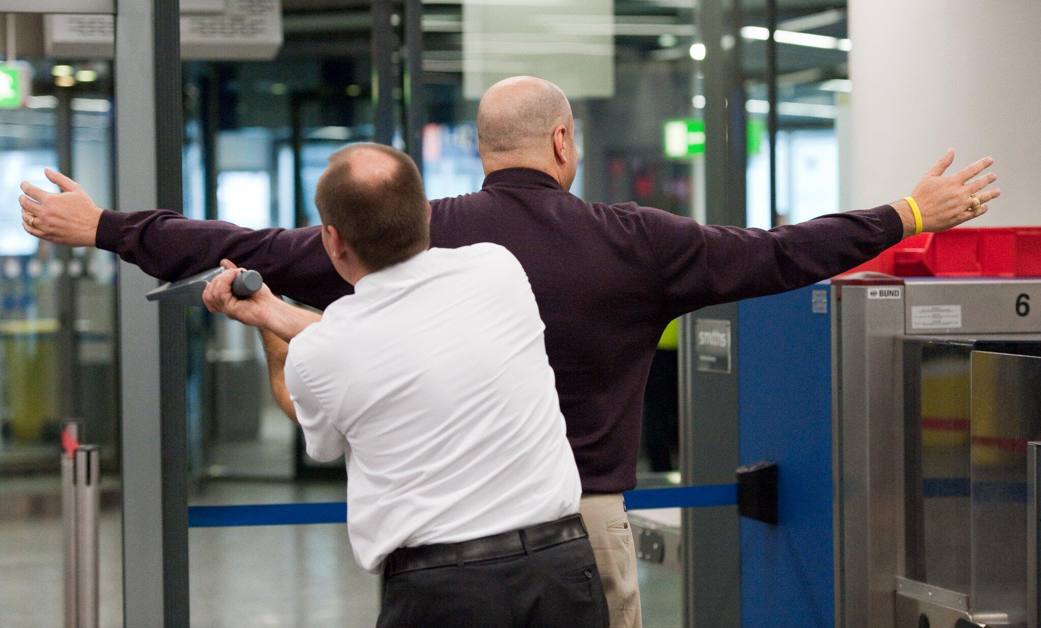 Bild zu Flughafen Frankfurt - Sicherheitskontrolle