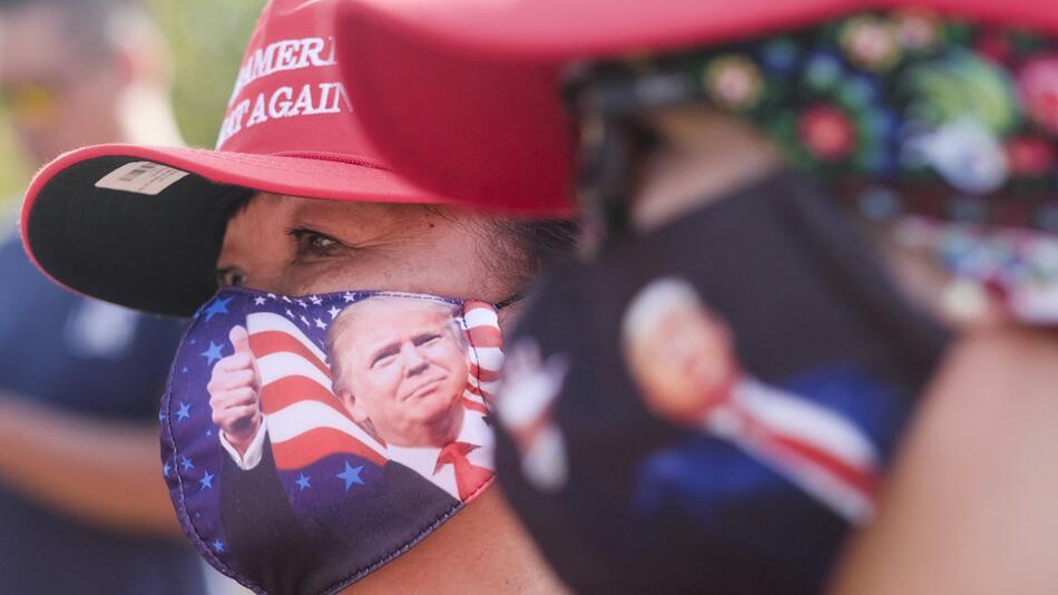 Unterstützer von US-Präsident Trump
