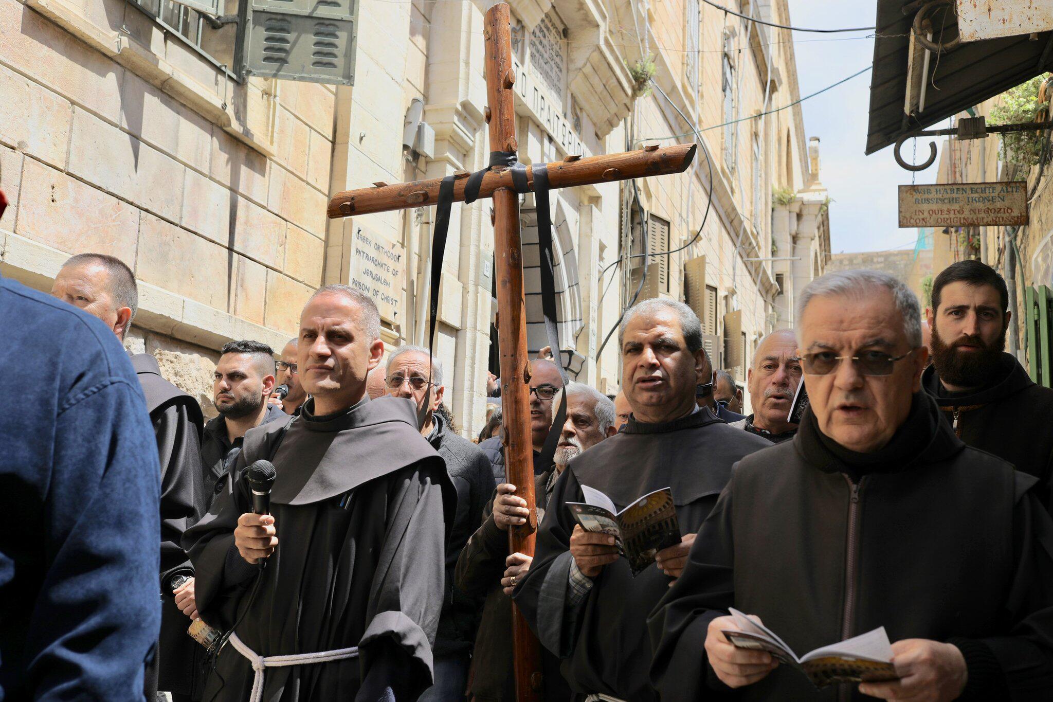 Bild zu Osterprozession in Jerusalem